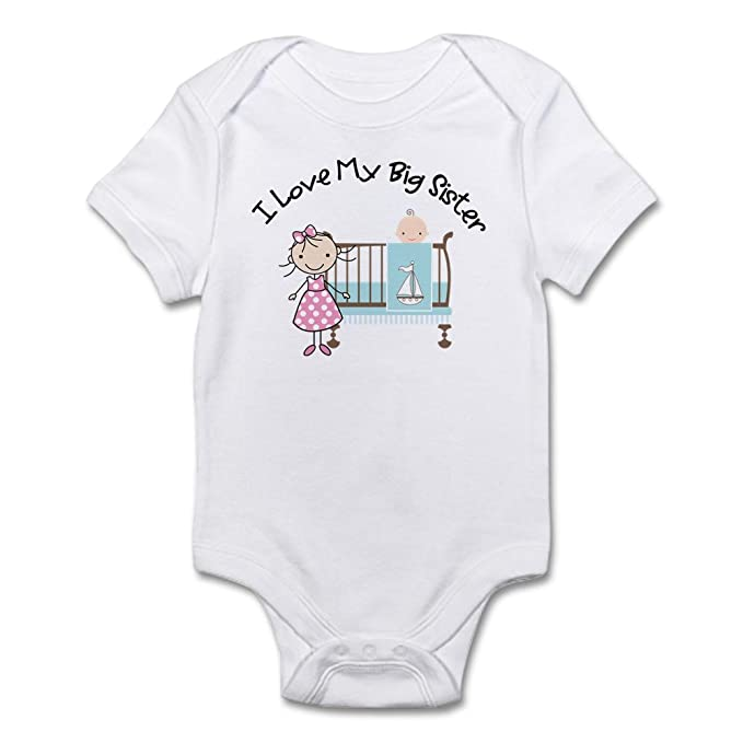 f3c826dbb2f2 Image Unavailable. Image not available for. Color: CafePress Little Brother  Big Sister Matching Shirts ...