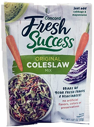 Concord foods Coleslaw Mix, 2.5 OZ Pouch by Concord Foods