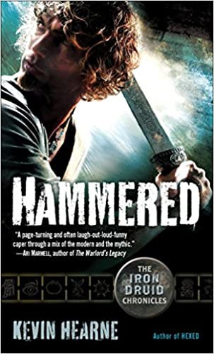 hammered the iron druid chronicles audiobook