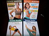 Denise Austin 4 DVD Set Workout Collection: BOOTCAMP (Cardio, Strength & Flexibility workouts) Total Body Blast! + BURN FAT FAST CARDIO BLAST (4 Workouts) + FAT-BLASTING YOGA (3 Workouts) + PILATES FOR EVERY BODY. Condition Your Heart, Crunch Calories and