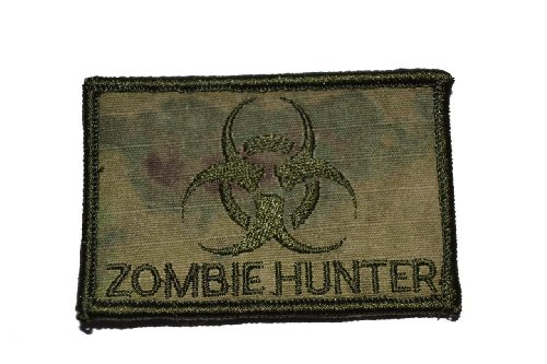 Zombie Hunter Biohazard 2x3 Morale Patch - ATACS FG