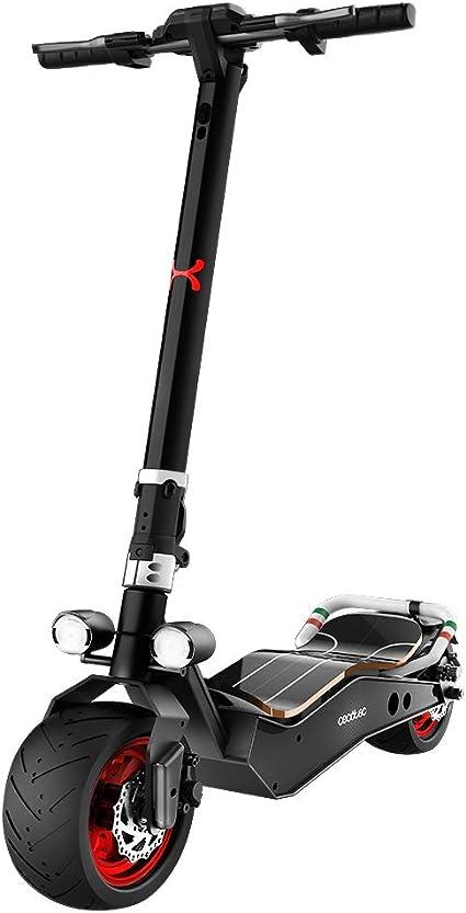 """Cecotec Patinete eléctrico Bongo Serie Z. Potencia máxima 1100 W, Batería extraíble, autonomía ilimitada hasta 40 km, tracción Trasera, Ruedas antirreventón de 12"""""""
