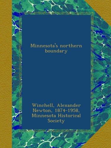 Minnesota's northern boundary