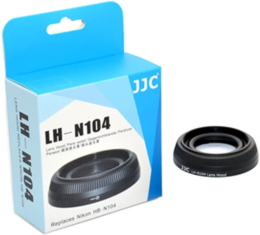 JJC LH-N104 Professional Hard Lens Hood for Nikon 18.5mm F 1.8 Replaces Nikon HB-N104