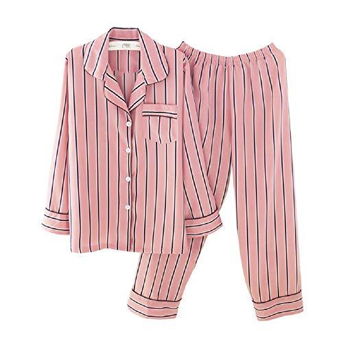 Mmllse Pantaloni Color Maniche Donna A E Pantaloni Da A Maniche Nuovi Lunghe Autunno Lunghe Pigiama Inverno A Righe Photo qwYrFxpqUI