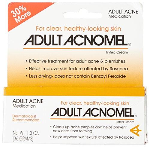 Acnomel Adult Acne Medication Cream 1.3 Oz