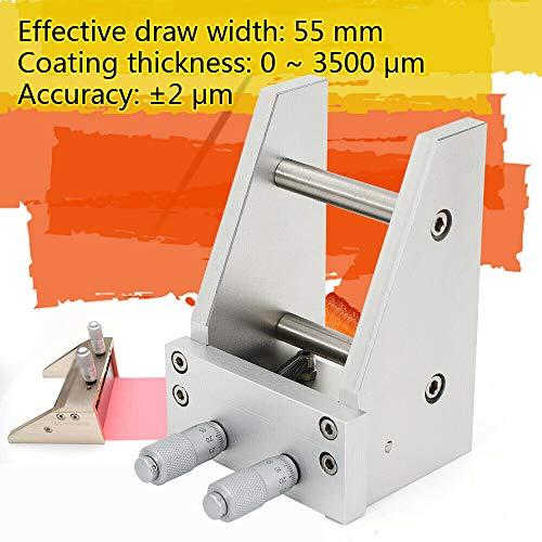 Ktq-Ii Adjustable Preparer 55Mm, Wet Film Preparator Adjuatable Coater Machine Coating Device Applicator Adjustable Preparer Metal Tools Preparation Equip from LOYALHEARTDY19