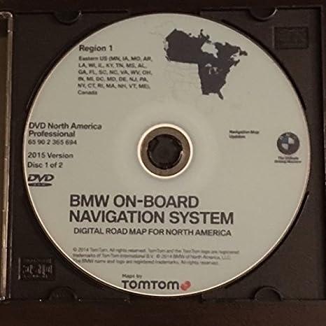 2015 BMW NAVIGATION UPDATE DVD EAST&WEST PROFESSIONAL VERSION