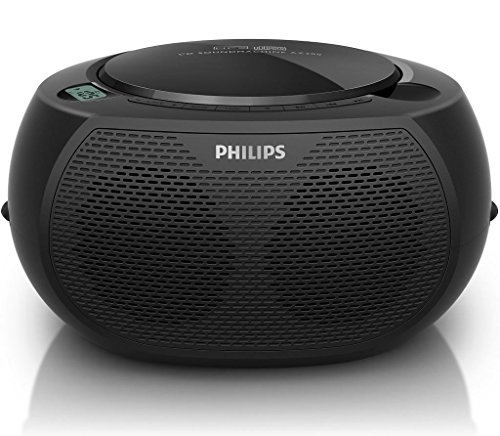 380 Usb (Philips AZ380/55 CD SoundMachine Portable Boombox Stereo USB/AUX MP3 Speaker System with AM/FM Radio and Dual AC/Battery Power Options (6 x