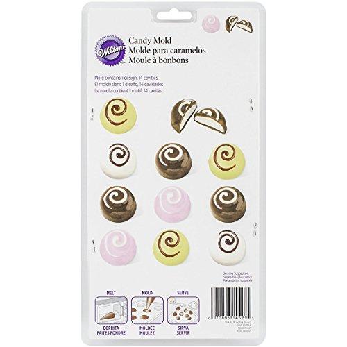 Wilton Truffle Candy Molds - Wilton Candy Mold-Truffle 12 Cavity (1 Design)