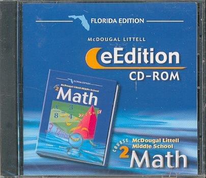 McDougal Littell Middle School Math Florida: eEdition CD-ROM Course 2 2004