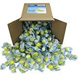 Lemonheads Candy - Lemon Heads - Yellow Candy - Individually Wrapped Medium Party Box 6x6x6 Family Size Bulk