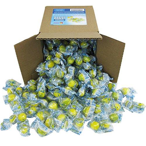 Lemonheads Candy - Lemon Heads - Individually Wrapped Medium Party Box 6x6x6 Family Size Bulk -