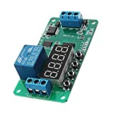 DC 12V CE030 Multifunction Self-lock Relay PLC Cycle Delay Timer Control Module - Arduino Compatible SCM & DIY Kits