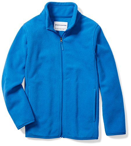 Royal Blue Kids Jacket - Amazon Essentials Big Boys' Full-Zip Polar Fleece Jacket, Royal Blue, Large