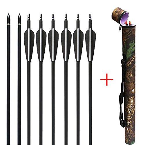 HBG Archery Hunting 12Pcs/lot 32'' Carbon Arrows Shaft Sp550