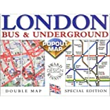 London Bus/Underground (Popout Maps Double)