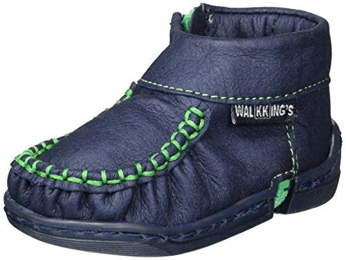 WalkkingsZip Around - Botines de Senderismo Bebé-Niños Blau (Walkking's Blue)