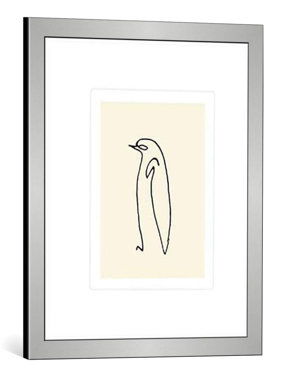 kunst für alle Bild mit Bilder-Rahmen: Pablo Picasso Le pingouin 1907