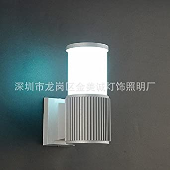 Gsbvbsd Led Wasserdicht Doppelkopf Einzelne Wand Lampe Spot Helle