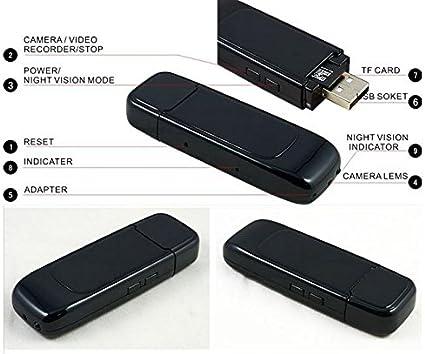 Usb Stick Spionagekamera K22 Spy Cam Spycam Überwachungskamera Mini Spion Kamera Detektiv Integrierte Kamera Von Kobert Goods Baumarkt