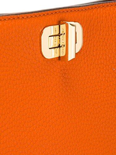 Michael By Michael Kors Mujer 30H6GUPM3L800 Naranja Cuero Bolso De Hombro
