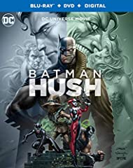 Batman: Hush (Blu-ray/DVD/Digital): When threads from Batman's past begin to unravel, the race is on for the Dark Knight to crack Hush's deadly game. Based on the tour de force graphic novel, Batman: Hush ranks as one of the greatest Batman s...