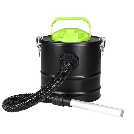 Bakaji aspirador profesional Potencia 500 W Aspiradora aspira cenizas con función sopladora Filtro Interno Hepa y ...