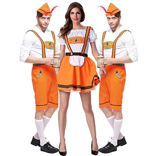 Nastro Tradizionale Costumi Donna Da Grembiule Baviera Midi Dirndl 16034 Pezzi Vestito In Oktoberfest Tre Chiyeee Abito Per FqEfxZ