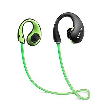 ZOETOW Gleam Bluetooth Auriculares Ip66 Auriculares Inalámbricos A Prueba De Agua con Micrófono Luces Led para Entrenamiento, Deportes: Amazon.es: ...