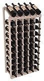 Wine Racks America Ponderosa Pine 5 Column 10 Row Display Top Kit. 13 Stains to Choose From!