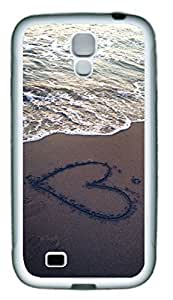 Beach View Heart In The Sand Theme Samsung Galaxy i9500 S4 Case by runtopwell