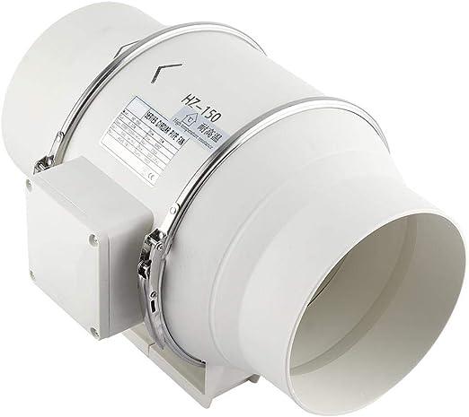 SOULONG - Ventilador para baño, 45 W, Color Blanco, para ...