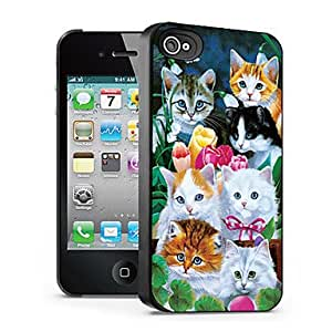 ZCL sold out Cat Pattern 3D Effect Case for iPhone4/4S