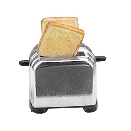 Doll House Miniature Toaster Bread Machine Kitchen Cookware Accessory Decor 1//12