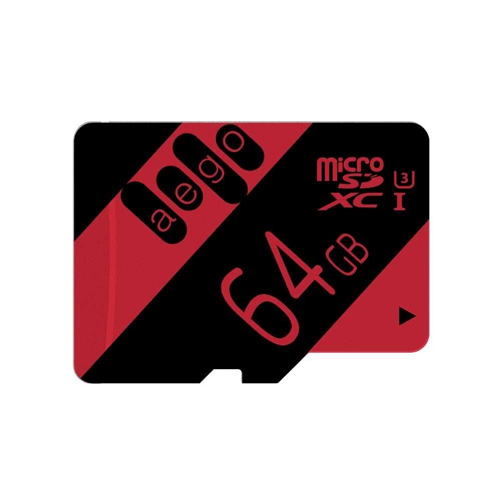 AEGO 64GB Tarjeta MicroSD U3 Micro SDXC Tarjeta de Memoria ...
