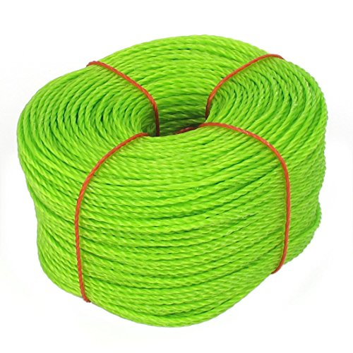 uxcell PE Polyethylene Wear-Resisting Twist Tie Rope String