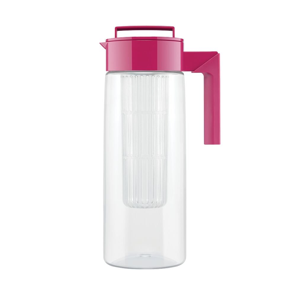 Takeya Flavor Infusion Maker, 2 Quart, Raspberry