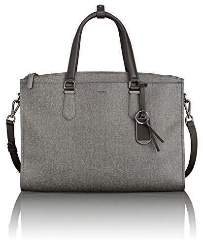 Tumi Women's Stanton Esme Business Brief Laptop Briefcase, Earl Grey, One (Tumi Computer Briefcase)