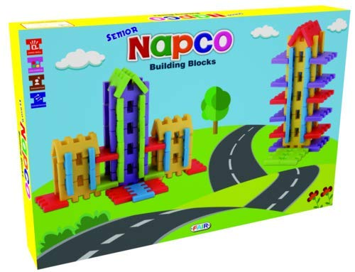Class fun Senior Napco Building Blocks Early Learning Educational Toy for Kids Age 2 to 5