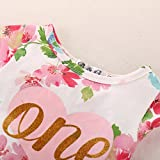 Baby Girl Summer Outfits 1st Birthday Romper Top
