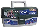 : South Bend Tackle Box - 3 Tray with 136 Piece Tackle Kit