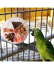 wenjuersty Vogelfutterspielzeug für Papageien, Spielzeug in Rad-Form, drehbar, Vogelfutterbox