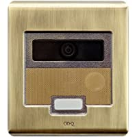 ON-Q Selective Call Intercom - Outdoor Station Selective Call Video Door Unit Antique Brass (IC5003-AB)