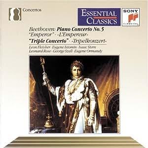 Beethoven: Piano Concerto No. 5, Emperor / Triple Concerto (Essential Classics)