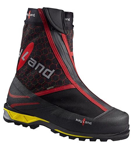 Kayland Scarpe Uomo Moutaineeering 4001 Gtx Nero-rosso Rosso-rosso