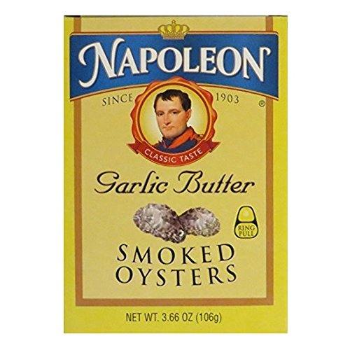 Napoleon Co, Oysters Garlic Butter, 3.66 Ounce