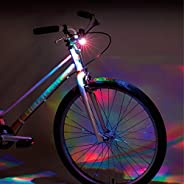 Bike Party Disco Handlebar Bicycle Light , Black