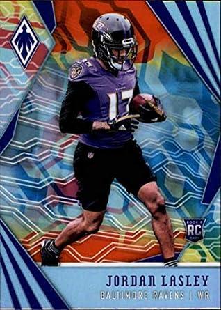 694f3f438a206b 2018 Panini Phoenix Color Burst  181 Jordan Lasley Rookie Baltimore Ravens  RC Rookie NFL Football