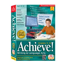 HB Achieve! Language Writing Arts Grades 3rd-6th (PC and Mac)